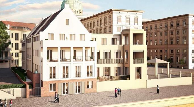 Stadtschloss Ensemble in Potsdam, Objektbeschreibung Bild 3