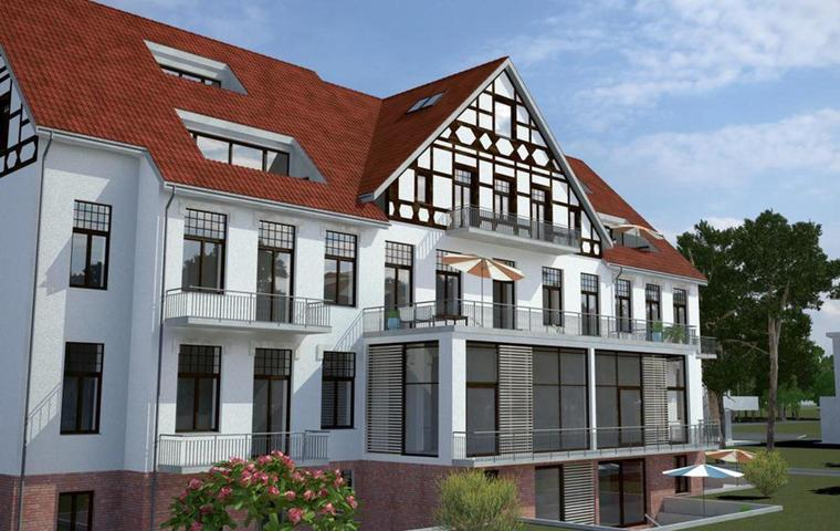 Villa mit Seeblick in Berlin