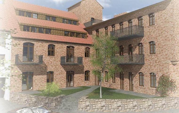 Neu im Angebot - die denkmalgeschützten Lofts in der Altstadt von Halle