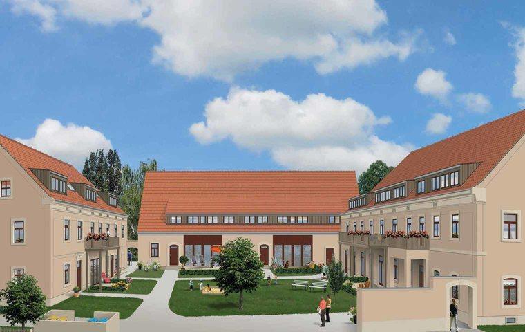 """Neu im Angebot, die Denkmalimmobilie """"Gutshof zum Lugturm"""" in Dresden"""