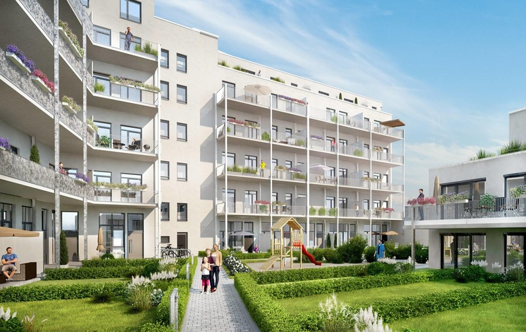 Lifestyle-Studios in Nürnberg bieten innovatives Wohnen mit Security- und Concierge-Service